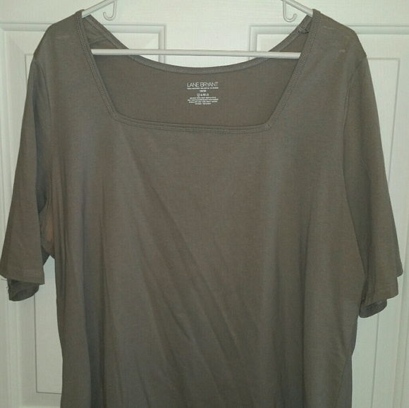 Lane Bryant Tops - Pull over shirt gray size 18/20 non smoking home